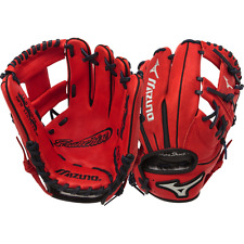 "Mizuno Franchise Series Red 11.5"" Baseball Glove"