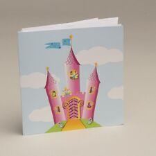 Lot de 10 Faire-parts Château avec enveloppe Baptême Mariage Communion