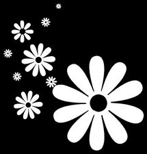 Flowers Flower Power Daisy Car Sticker Decal New Vinyl Art 2001-2003