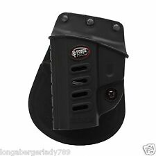 LEFT HAND ELITE FOBUS TATICAL RUGER SR22 GUN PISTOL PADDLE HOLSTER CONCEAL CARRY