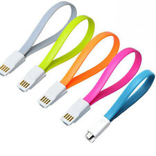 Magnet Adapter Sync Data Micro USB Cable Flat Noddle Charger For Samsung HTC TR