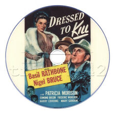 Dressed to Kill (1946) Sherlock Holmes - Basil Rathbone Mystery Thriller on DVD