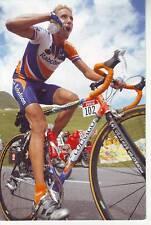 CYCLISME carte  cycliste MICHAL BOOGERD équipe RABOBANK