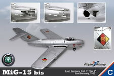 "Flight Wing East Germany FAG-2 MiG-15 bis ""Red 9"" Fighter Plane 1953 1/18"