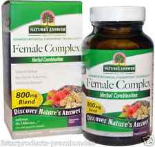 NEW NATURE'S ANSWER FEMALE COMPLEX HERBAL COMBINATION WOMEN'S DAILY HEALTHY CARE