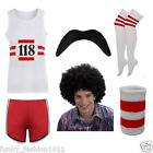 WOMENS MENS 118 MARATHON RETRO COMPLETE FULL SET FANCY DRESS COSTUME LOT