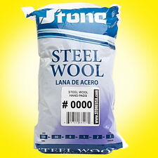 12pc Steel Wool Hand Pads # 0000 - Super Fine - SAME DAY SHIPPING