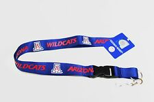 OFFICIAL LICENSED NCAA LANYARD *UNIVERSITY OF ARIZONA WILDCATS* KEYCHAIN KEYRING