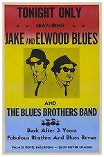 "BLUES BROTHERS CLASSIC CONCERT POSTER 12"" X 18"" - JAKE AND ELWOOD BLUES"