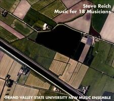 Steve Reich: Music for 18 Musicians [Digipak] by Grand Valley State...