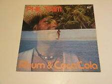 PHIL TRIM - RUM & COCA COLA - LP OUT RECORDS 1980 MADE IN ITALY - NM/EX++