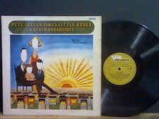 PETE SEEGER Sings Little Boxes LP     Lovely copy !