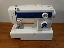 White Sewing Machine Model Number 1409 no pedal or power cord.