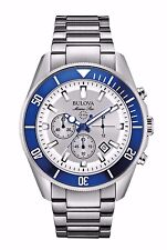 Bulova Men's 98B204 Marine Star Quartz Chronograph Stainless Steel Dive Watch