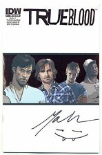 True Blood #1 Con Exclusive Variant (IDW 2010) autographed by Mariah Huehner