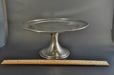 Antique Tiffany & Co Sterling Silver Cake Stand Tazza 15.7 Troy Ozs 1907-1947