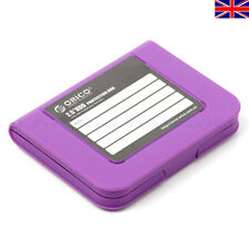 "5X ORICO PHI-25 2.5 "" HDD Protector SATA HDD Hard Drive Storage Carring Case UK"