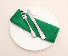 """150 Packs 20"""" x 20"""" Polyester Napkins Wedding Party Catering 24 COLORS SALE USA"""