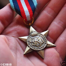 ARCTIC STAR MEDAL WW2 BRITISH MILITARY ARCTIC CONVOY AWARD ROYAL NAVY REPRO UK