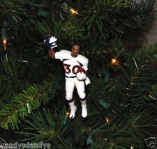 terrell DAVIS denver BRONCOS nfl FOOTBALL tree XMAS ornament HOLIDAY jersey vtg