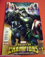 CONTEST OF CHAMPIONS #1 REGULAR COVER W/DIGITAL EDITION $3 FLAT RATE SHIPPING!
