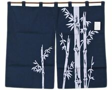 """Japanese 30""""L Noren Doorway Room Divider Business Curtain Bamboo, Made in Japan"""
