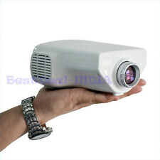 New Mini 1080p HD Portable Home Cinema Theater Projector for TV, DVD, PC, Laptop
