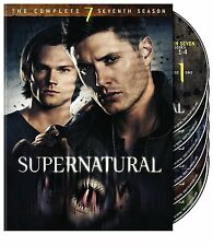 SUPERNATURAL: SEASON 7 DVD - THE COMPLETE SEVENTH SEASON [6 DISCS] - NEW
