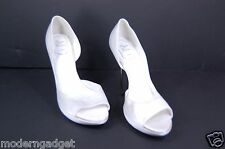 "SUPER  BEAUTIFUL!!! ROGER VIVIER 5"" HIGH HEEL PLATFORM WEDDING SHOES EU 41 US 11"