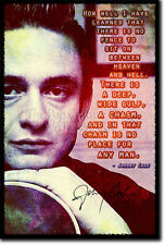 JOHNNY CASH PHOTO PRINT POSTER GIFT