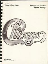 CHICAGO Brass Scores Complete SKETCH SCORE Songbook OLD STORE STOCK