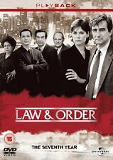 Law and Order NBC Series Complete Series 7 (6 Disc Box Set) [DVD] New and Sealed