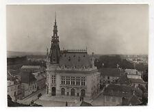 PHOTO Vintage 1906 - SENS FRANCE YONNE - Vue générale - Mairie Hôtel de Ville
