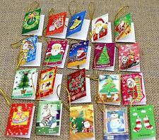 New 20pcs Christmas cards Hanging Decorations For Christmas Trees Hot Decoration