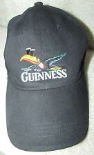 Guinness Black Baseball Hat Cap One Size Fits Most 59CM EUC