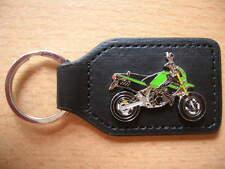 Schlüsselanhänger Kawasaki KSR110 / KSR 110 grün green Art. 0918 Motorrad Moto