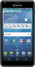 Cricket Wireless - Kyocera Hydro VIEW 4G LTE with 8GB Memory Cell Phone - Black