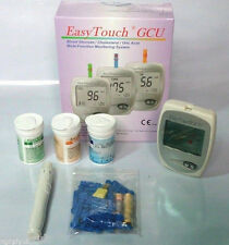 Easytouch Glucose Cholesterol Uric Acid Blood Monitor System Portable 3 in 1