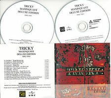 TRICKY Maxinquaye Deluxe Edition UK 25-trk numbered/watermarked promo test 2-CD
