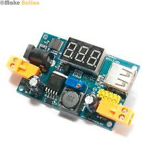 Adjustable Step-Down Power Module LM2596 with LCD Display - 4.5V to 40V