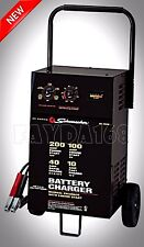 Schumacher Heavy Duty Auto Battery Charger Jump Starter 200 Amp 12 Volt Wheeled