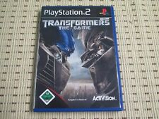 Transformers The Game für Playstation 2 PS2 PS 2 *OVP*