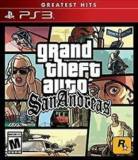 Grand Theft Auto San Andreas PlayStation 3 game