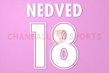 Nedved #18 1998-2001 Lazio Awaykit Nameset Printing