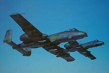 After The Battle Fairchild A-10 Thunderbolt II United States Air Force Postcard