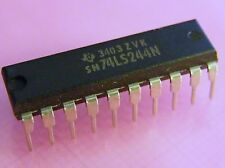 10x SN74LS244N Octal Buffers And Line Drivers, Texas Instruments