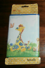 """Sunworthy LITTLE SUZYS ZOO Wallpaper Border Pre-Pasted-New 6.75"""" x 5 yards"""