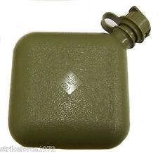 Genuine US Forces Military Olive Green 2 Quart Collapsible Water Canteen - NEW