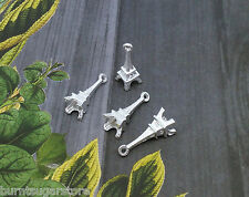 20x Silver Plated Eiffel Tower Charms Pendant Findings Paris Jewelry 19x9mm