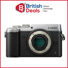 Panasonic Lumix DMC-GX8 Mirrorless Digital Camera Silver Body Micro Four Thirds